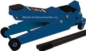 TH33502 Домкрат подкатной гидравлический 3.5 т h min 95мм, h max 552мм, 2 поршня Forsage