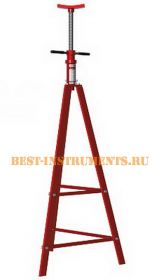 TRF42008 Подставка-домкрат ремонтная механическая винтовая, 2т (Н=1250-1950мм) Big Red