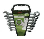 515080 Набор комбинированных ключей с трещоткой Дело Техники, 8 шт